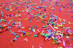 Party abstract confetti Royalty Free Stock Images
