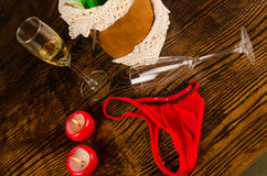 Party aftermath Royalty Free Stock Image