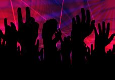Party all night Stock Photography