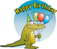 Party Alligator Royalty Free Stock Photos
