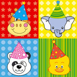 party animals Royalty Free Stock Photo