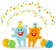 Party animals Stock Photography