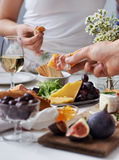 Party Appetiser Platter Royalty Free Stock Photo