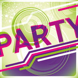 Party background. royalty free illustration
