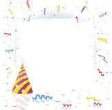 Party background with copy space area Royalty Free Stock Images
