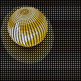 Party background with disco ball. Stock Image