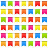 Party Background with Flags Seamless Pattern Stock Image
