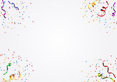 Party Background with Flags Vector Illustration Royalty Free Stock Photography