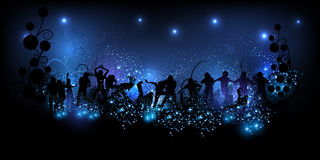 Party background illustration Stock Images