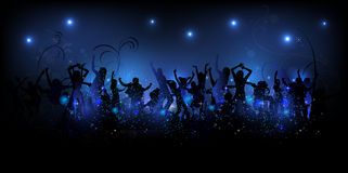 Party background Illustration Stock Image