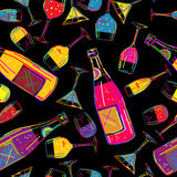 Party background tile Stock Image