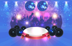 Party Background Vector Design Stock Photo