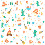 Party background vector illustration Stock Images