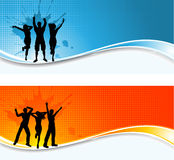 Party backgrounds Stock Photo