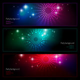 Party backgrounds Royalty Free Stock Photo