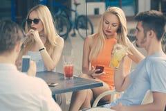 Party, bad habits, addiction stock photography