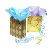Party bags Royalty Free Stock Images