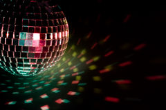 Party ball  reflection Royalty Free Stock Photography
