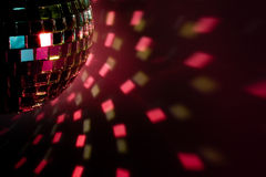 Party ball  reflection Royalty Free Stock Photo