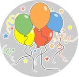 Party-Ballone Lizenzfreies Stockbild