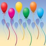 Party-Ballone Lizenzfreies Stockfoto
