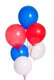Party-Ballone auf Weiß Lizenzfreie Stockbilder