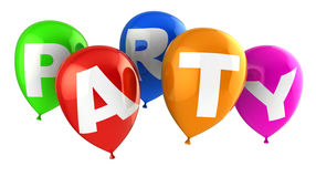 Party Ballons Lizenzfreie Stockbilder