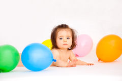 Party balloon Stock Image