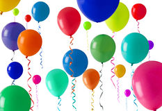 Party balloon background Royalty Free Stock Photos