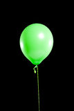 Party balloon on black Royalty Free Stock Photography