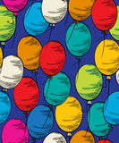 Party balloon seamless Stock Photos