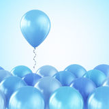 Party balloons Stock Photography