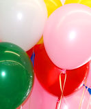 Party balloons Stock Photo