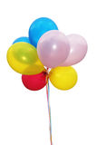 Party Balloons. String of colorful party balloons Stock Images