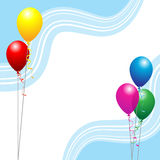 Party balloons Royalty Free Stock Photos