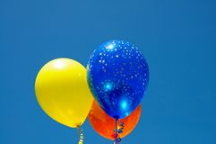 Party balloons. Stock Images