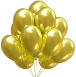 Party balloons. Royalty Free Stock Photo