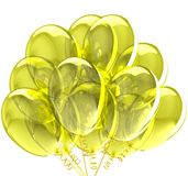 Party balloons. Stock Image