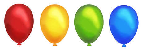 Party balloons Royalty Free Stock Image