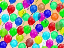 Party balloons Stock Photos