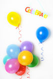 Party balloons Stock Images