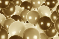Party balloons as background. Stock Photography