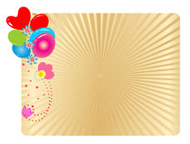 Party Balloons Background Royalty Free Stock Image