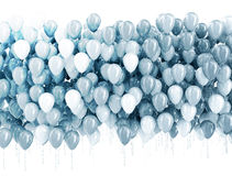 Party balloons background Royalty Free Stock Images