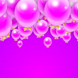Party Balloons Background for your Text. Stock. Party Balloons Background for your Text. Vector Illustration Stock Images