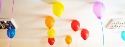 Party balloons Stock Photos
