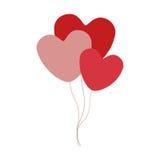 Party balloons icon image Stock Photo