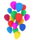 Party Balloons Multicolor Stock Photography