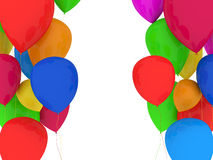 Party Balloons Multicolor Royalty Free Stock Photography