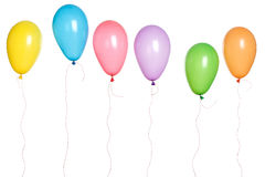 Party - Balloons in a Row Stock Image
